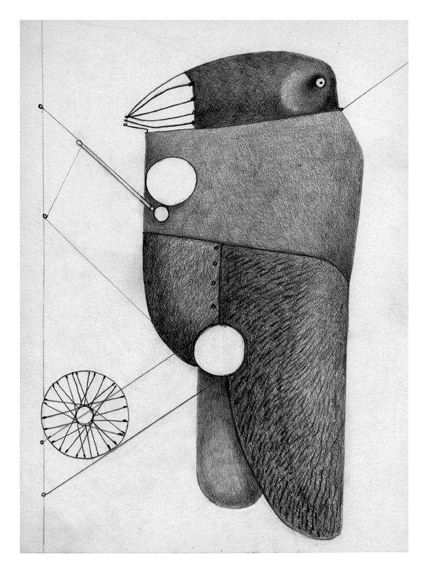 Illustrazioni-Animali automatici-Cavalletta meccanica
