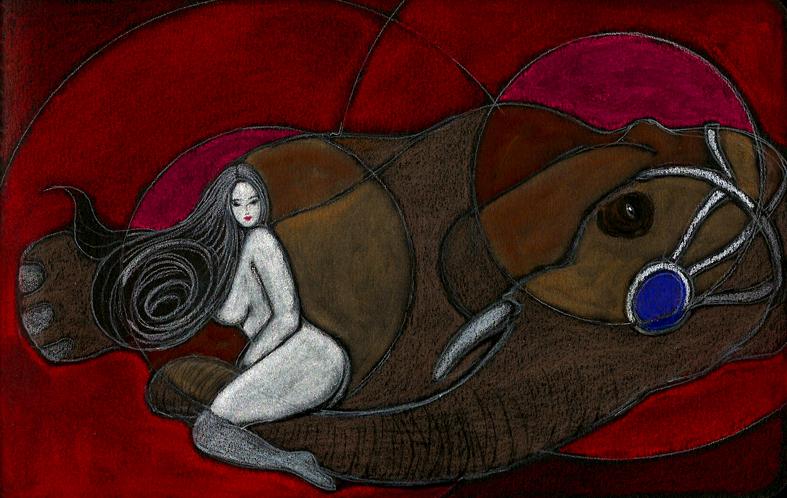 Illustrazioni-Piccolo e oscuro scrigno-L'elefante